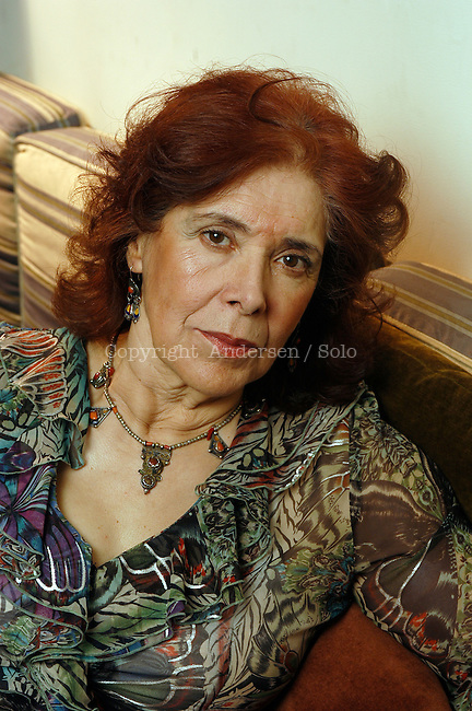 Assia Djebar, French / Algerian writer at home.