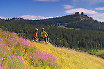 mountain biking, Steamboat Springs, Colorado, single track, Rabbit Ears pass, Craig and Valerie