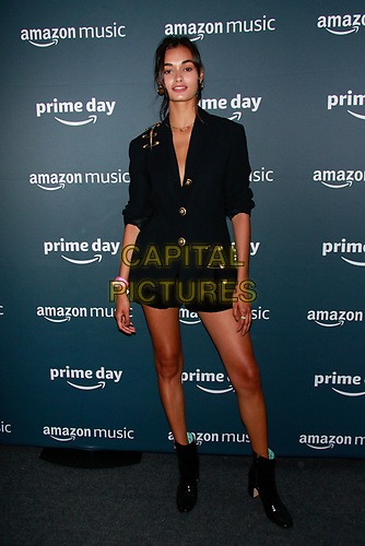 NEW YORK, NY - JULY 10: Gizele Oliveira at Amazon's Prime Day Concert at Hammerstein Ballroom  on July 10, 2019 in New York City.<br /> CAP/MPI/DC<br /> ©DC/MPI/Capital Pictures