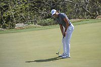 Julian Suri (USA) watches his putt on 2 during day 2 of the World Golf Championships, Dell Match Play, Austin Country Club, Austin, Texas. 3/22/2018.<br /> Picture: Golffile | Ken Murray<br /> <br /> <br /> All photo usage must carry mandatory copyright credit (&copy; Golffile | Ken Murray)