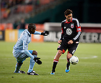 Julio Cesar, Branko Boskovic.  Sporting KC defeated D.C. United, 1-0, at RFK Stadium in Washington, DC.