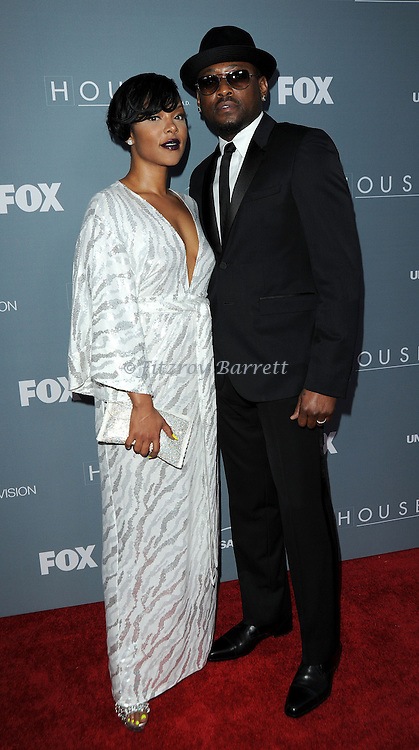 Omar Epps and wife Keisha Spivey attending the House Series  Finale Wrap Party, held at Cicada's in Los Angeles, CA. April 20, 2012