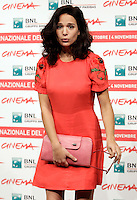 "L'attrice Aylin Prandi posa durante un photocall per la presentazione del film ""Il paese delle spose infelici"" al Festival Internazionale del Film di Roma, 29 ottobre 2011..Actress Aylin Prandi poses during a photocall to present the movie ""Il paese delle spose infelici"" at the international Rome Film Festival at Rome's Auditorium, 29 october 2011..UPDATE IMAGES PRESS/Riccardo De Luca"