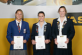 Waterpolo Girls Finalists. lASB College Sport Young Sportsperson of the Year Awards 2006, held at Eden Park on Thursday 16th of November 2006.<br />