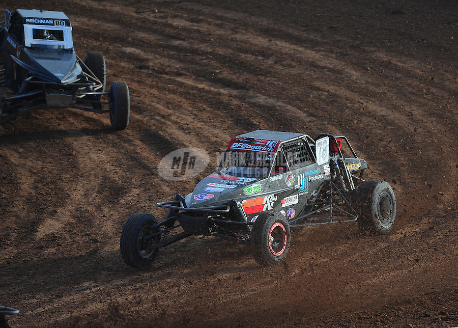 Dec. 11, 2011; Chandler, AZ, USA;  LOORRS pro buggy driver Malcolm Pointon (78) during the Lucas Oil Challenge Cup at Firebird International Raceway. Mandatory Credit: Mark J. Rebilas-