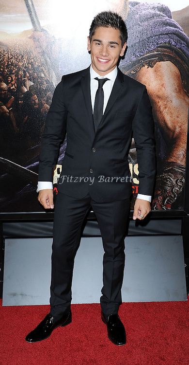 "Christian Antidormi at the LA Premiere of ""Spartagus War Of The Damned"" held at Regal Cinemas L.A. LIVE January 22, 2013"
