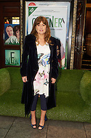 NO FEE PICTURES 1/5/12 Fiona Looney at the opening night of the world premiere of Fiona Looney's new play Greener at the Gaiety Theatre, Dublin. Picture:Arthur Carron/Collins