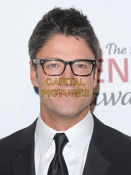James Scott.Davey Detail. 26th Genesis Awards held at The Beverly Hilton Hotel, Beverly Hills, California, USA..March 24th, 2012.headshot portrait black white tie glasses .CAP/RKE/DVS.©DVS/RockinExposures/Capital Pictures.