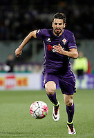 Calcio, Serie A: Fiorentina vs Juventus. Firenze, stadio Artemio Franchi, 24 aprile 2016.<br /> Fiorentina&rsquo;s Nenad Tomovic in action during the Italian Serie A football match between Fiorentina and Juventus at Florence's Artemio Franchi stadium, 24 April 2016. <br /> UPDATE IMAGES PRESS/Isabella Bonotto