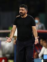 12th July 2020; Stadio San Paolo, Naples, Campania, Italy; Serie A Football, Napoli versus AC Milan; Gennaro Gattuso coach of Napoli