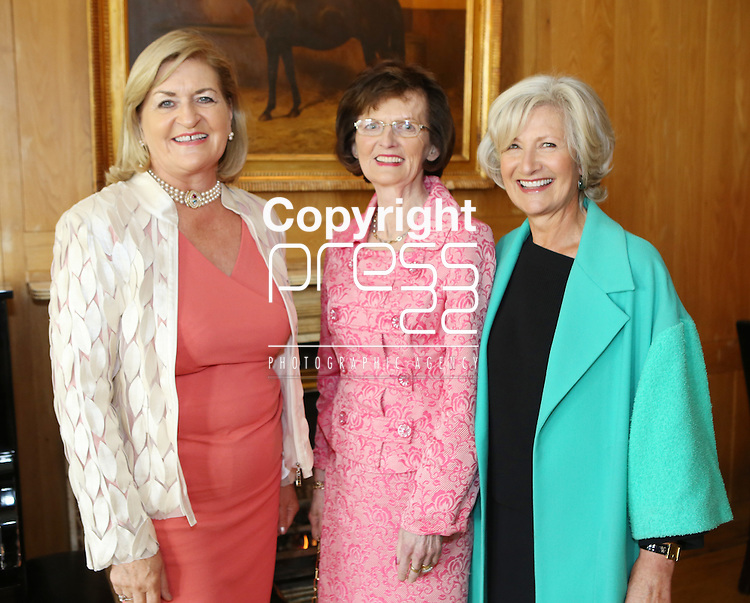 14/5/2015  Attending the Ladies Fundraising Lunch, in the Dunravan Arms Hotel in aid of St. Gabriel's School & Centre were Noreen McManus, Martinstown, Kilmallock, Eileen McDonagh, Bruree and Iseult Murphy, Adare .  Photograph Liam Burke/Press 22
