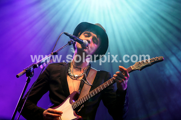 **ALL ROUND PICTURES FROM SOLARPIX.COM**.**SYNDICATION RIGHTS FOR UK AND SPAIN ONLY**.Pete Doherty's band, Babyshambles, performing at the music festival 'Rock am Ring' at the Nuerburgring racetrack, Nurnberg, Germany. 6th-8th June 2008...JOB REF: 6594 CPR/Clemens Bilan .DATE: 08_06_2008.**MUST CREDIT SOLARPIX.COM OR DOUBLE FEE WILL BE CHARGED* *UNDER NO CIRCUMSTANCES IS THIS IMAGE TO BE REPRODUCED FOR ANY ONLINE EDITION WITHOUT PRIOR PERMISSION*