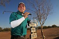 Club de Golf estilo desertico  en el real de Catorce (Foto:LuisGutierrez/NortePhoto.com)