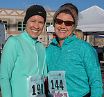 Christy and Julie during the Run with the Girls event at Damonte Ranch High School on Sunday, Nov. 5, 2017.