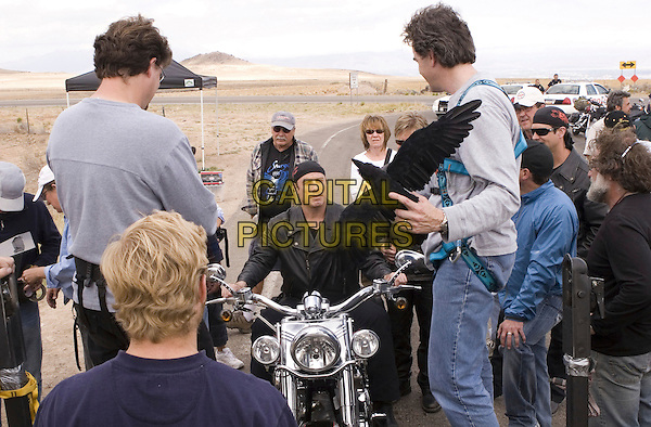 JOHN TRAVOLTA & CREW.on the set of Wild Hogs.**Editorial Use Only**.CAP/FB.Supplied by Capital Pictures