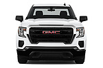 Car photography straight front view of a 2019 GMC Sierra 1500 Base 2 Door Pick Up