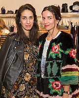 Sharon Garner and Randi Molofsky attend the Reservoir Celebrates One-Year Anniversary with Cocktail Event and Opening of Second Floor Home Shop on Nov. 19, 2016 (Photo by Inae Bloom/Guest of a Guest)