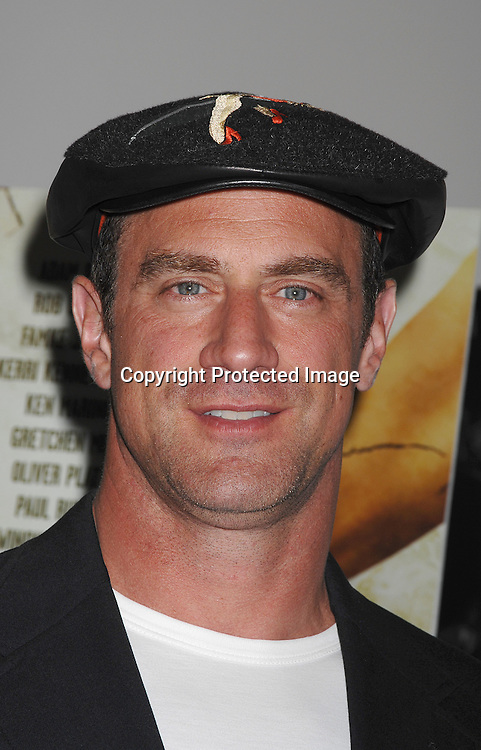 "Chris Meloni..posing for photographers at The New York Premiere of..""The Ten"" on July 23, 2007 at The DGA Theatre in New York City. ..Robin Platzer, Twin Images....212-935-0770"