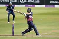 Jake Lehmann of Lancashire CCC pulls to the mid wicket boundary during Middlesex vs Lancashire, Royal London One-Day Cup Cricket at Lord's Cricket Ground on 10th May 2019