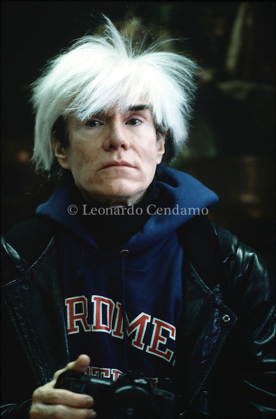 ANDY WARHOL  © Leonardo Cendamo