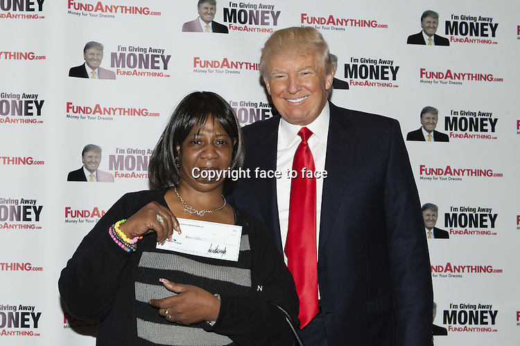 Donald Trump // NEW YORK, NY - MAY 8: Donald_Trump promotes FundAnything.com during a press conference at Trump Tower in New York City. May 8, 2013...Credit: MediaPunch/face to face..- Germany, Austria, Switzerland, Eastern Europe, Australia, UK, USA, Taiwan, Singapore, China, Malaysia, Thailand, Sweden, Estonia, Latvia and Lithuania rights only -