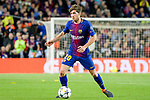 Sergi Roberto Carnicer of FC Barcelona in action during the UEFA Champions League 2017-18 quarter-finals (1st leg) match between FC Barcelona and AS Roma at Camp Nou on 05 April 2018 in Barcelona, Spain. Photo by Vicens Gimenez / Power Sport Images