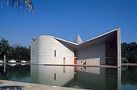 Gebäude von Le Corbusier in Chandigarh (Haryana), Indien, UNESCO-Weltkulturerbe
