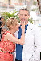 "Anne Consigny and Lambert Wilson attending the ""vous n'avez encore rien vu"" Photocall during the 65th annual International Cannes Film Festival in Cannes, France, 21th May 2012...Credit: Timm/face to face / Mediapunchinc"