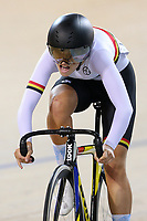 Eva Parkinson of Waikato BOP compete in the U17 Girls Sprint final at the Age Group Track National Championships, Avantidrome, Home of Cycling, Cambridge, New Zealand, Saturday, March 18, 2017. Mandatory Credit: © Dianne Manson/CyclingNZ  **NO ARCHIVING**