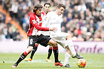 Real Madrid's Mateo Kovacic (r) and Athletic de Bilbao's Ander Iturraspe during La Liga match. February 13,2016. (ALTERPHOTOS/Acero)