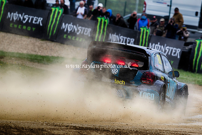 Guy Wilks, Loco World RX Team in qualifying action during WRX 2017 Round Four Race Day at Circuit Jules Tacheny on 14th May 2017