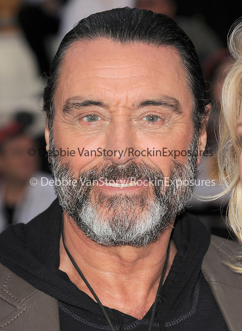 Ian McShane at Walt Disney Pictures Premiere of Pirates of the Caribbean : On Stranger Tides held at Disneyland in Anaheim, California on May 07,2011                                                                               © 2010 Hollywood Press Agency