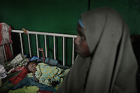 Mogadishu/Somalia 2012 - Malnutrition Center in  Banadir Hopsital.