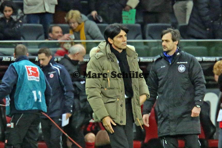 Manager Bruno Hübner (Eintracht) - Eintracht Frankfurt vs. FC Schalke 04, Commerzbank Arena