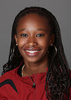 STANFORD, CA - SEPTEMBER 29:  Kala Stepter of the Stanford Cardinal during track and field picture day on September 29, 2009 in Stanford, California.