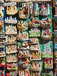 Souvenir magnets, San Gimignano, Siena-Tuscano, Italy