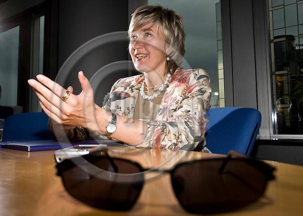 BRUSSELS - BELGIUM - 02 JULY 2008 --  MEP Marianne MIKKO (Estonia, Socialist Group), thinks bloggers should be regulated. -- PHOTO: Juha ROININEN / EUP-IMAGES..-- HSYO 20080702 --