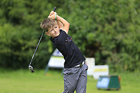 Ewan McHale (Ballybunion) during the Connacht U14 Boys Amateur Open, Ballinasloe Golf Club, Ballinasloe, Galway,  Ireland. 10/07/2019<br /> Picture: Golffile | Fran Caffrey<br /> <br /> <br /> All photo usage must carry mandatory copyright credit (© Golffile | Fran Caffrey)