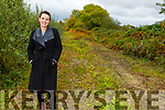 Cllr Aoife Thornton, Mayor of the Listowel Municipal District at the site of the new Greenway in Listowel on Monday.