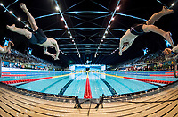 400 m Medley Men<br /> Start<br /> day 02  09-08-2017<br /> Energy For Swim<br /> Rome  08 -09  August 2017<br /> Stadio del Nuoto - Foro Italico<br /> Photo