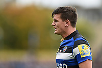 Freddie Burns of Bath Rugby looks on. Aviva Premiership match, between Bath Rugby and Worcester Warriors on October 7, 2017 at the Recreation Ground in Bath, England. Photo by: Patrick Khachfe / Onside Images