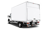 Car pictures of rear three quarter view of 2017 Peugeot Boxer 410 4 Door Parcel Van Angular Rear