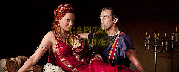 LUCY LAWLESS & JOHN HANNAH.in Spartacus: Blood and Sand.*Filmstill - Editorial Use Only*.CAP/FB.Supplied by Capital Pictures.