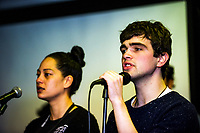 Te Auaha music photoshoot at Whitireia in Porirua, New Zealand on Monday, 29 May 2017. Photo: Dave Lintott / lintottphoto.co.nz
