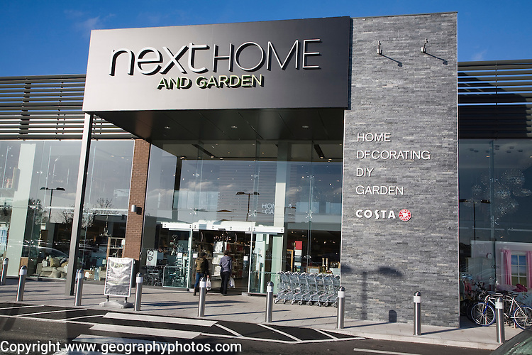 Next Home and Garden store, Martlesham, Suffolk, England