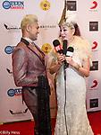 Fashion Designer Sue Wong's Academy Gala and fashion Show