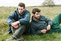 God's Own Country (2017)<br /> Alec Secareanu and Josh O'Connor <br /> *Filmstill - Editorial Use Only*<br /> CAP/KFS<br /> Image supplied by Capital Pictures
