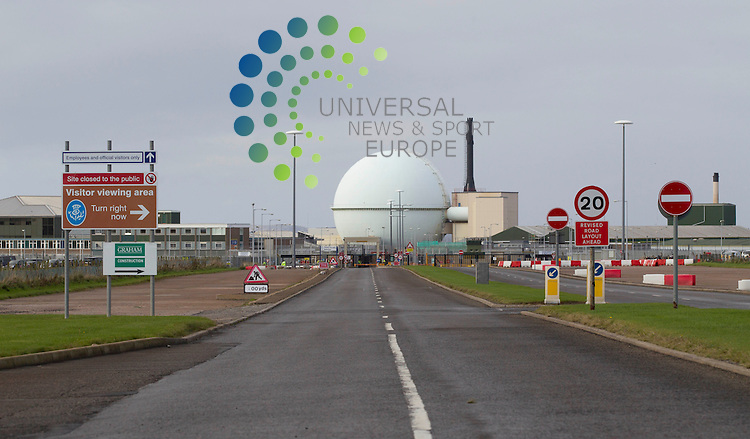 DOUNREAY FAST REACTOR - Dounreay Nuclear Power Development Establishment was established in 1955 primarily to pursue the UK Government policy of developing fast breeder reactor (FBR) technology.<br /> Picture: Universal News And Sport (Europe) 16 October  2014.