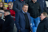 Cardiff chairman Mehmet Dahlman ahead of the Sky Bet Championship match between Cardiff City and Hull City at the Cardiff City Stadium, Cardiff, Wales on 16 December 2017. Photo by Mark  Hawkins / PRiME Media Images.