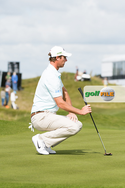 Nicolas Colsaerts (BEL) in action on the 6th hole during the 2nd round at the KLM Open, The International, Amsterdam, Badhoevedorp, Netherlands. 13/09/19.<br /> Picture Stefano Di Maria / Golffile.ie<br /> <br /> All photo usage must carry mandatory copyright credit (© Golffile | Stefano Di Maria)